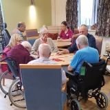 Gentleman's club comes to Springhill Care Home