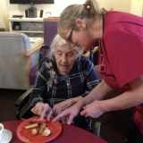 Where on a Wednesday at Springhill Care Home