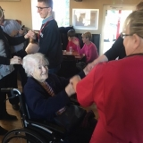 Sing-a-long lunch date for Birch Green Care Home