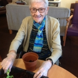 Gardening club at Springhill Care Home