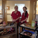 Sweet treats at Springhill Care Home