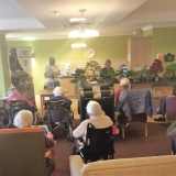 Bonsai trees grow on us at Springhill Care Home