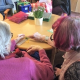 Sewing Club at Springhill Care Home