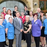 Springhill Care Group shines with Platinum award