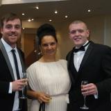 Awards evening for Affinity trio