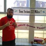 Tom 'swims the Channel' - Affinity Supporting People