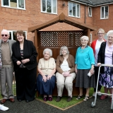 Senses are sharp at care home garden