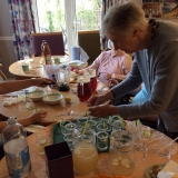 Cocktail hour at Riversway Nursing Home