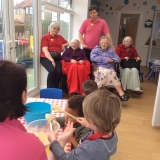 Stepping Stones Nursery visit for Riversway