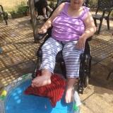Water fights and paddling pools at Riversway Nursing Home