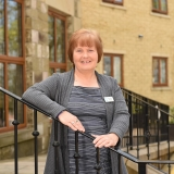 Bernadette helps to lead care home