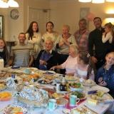 Family birthday celebrations for Ray at Riversway