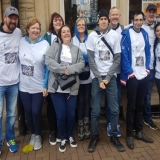 Staff from Springhill Care Home raise cash for Compassion Rwanda
