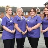 Birch Green Care Home quartet commit to nursing skills