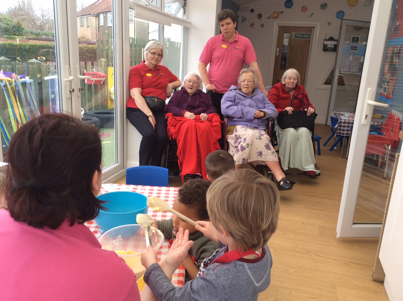 Stepping Stones Nursery visit for Riversway - Springhill ... Stepping Stones Home Care