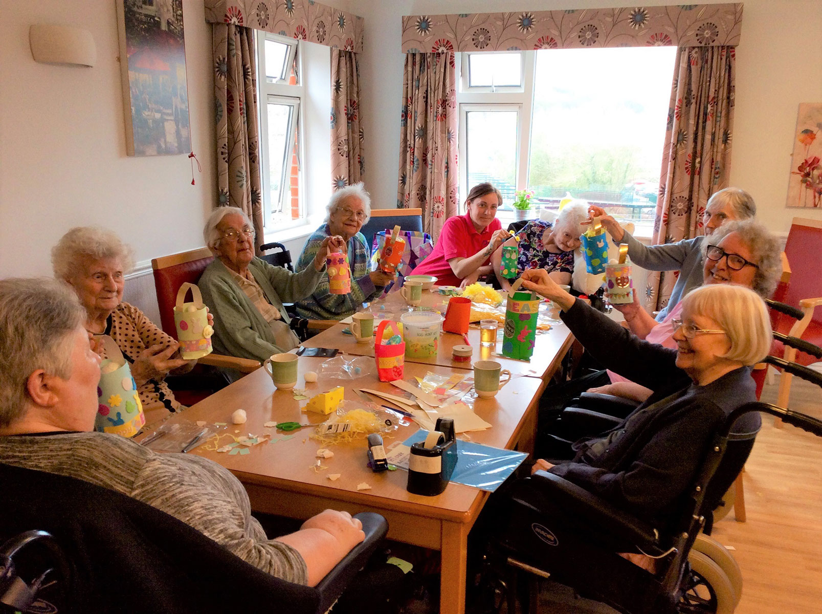 Easter Fun At Riversway Nursing Home Springhill Care Group Lancashire