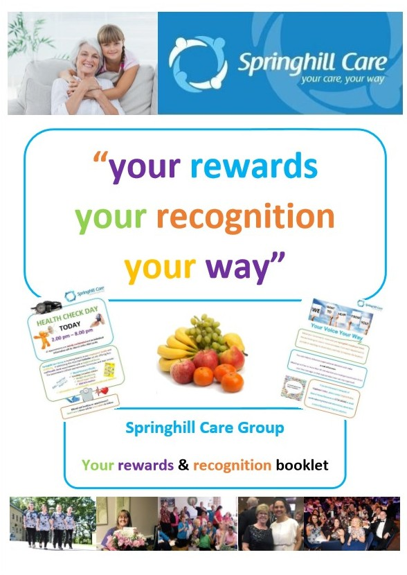 you ve joined our team what next springhill care group lancashire